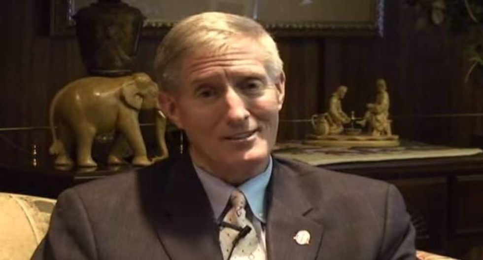 Baptist college president's affair revealed in shocking video shot by his son