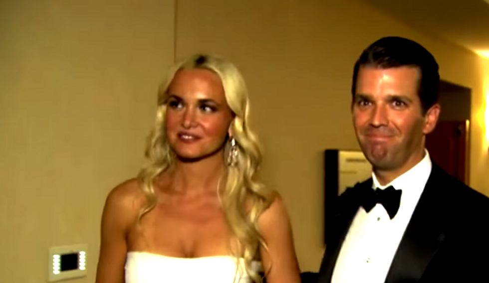 Donald Trump Jr's estranged wife let him spend Easter with his family
