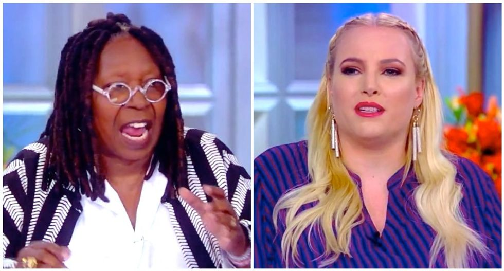 Whoopi Goldberg finally blows up after Meghan McCain peddles more falsehoods about 'late-term abortion'