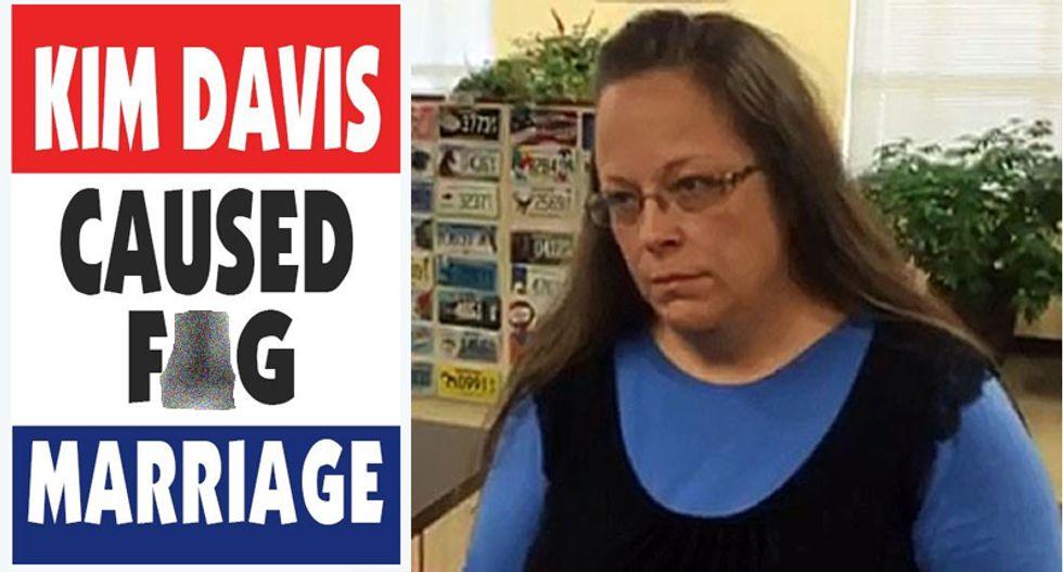 #GodHatesAdultery: Westboro Baptist church turns on Kim Davis for causing 'F*g marriage'