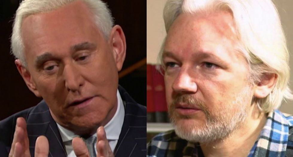 Ex-Roger Stone colleague: Jullian Assange is ready to talk -- but only if it's not a trap