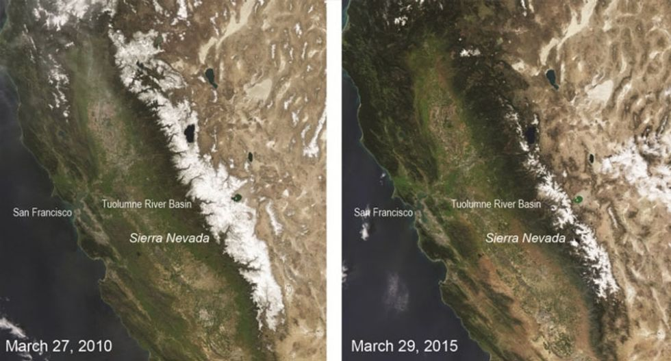 Study finds key water source for California at 500-year low