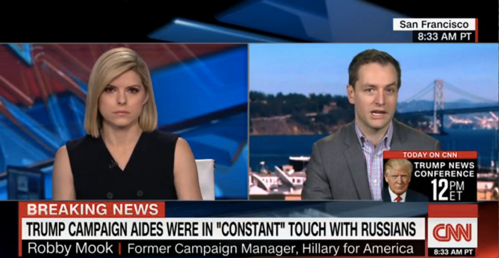 Clinton campaign manager Robby Mook calls for 9/11-style investigation into Trump ties to Russia