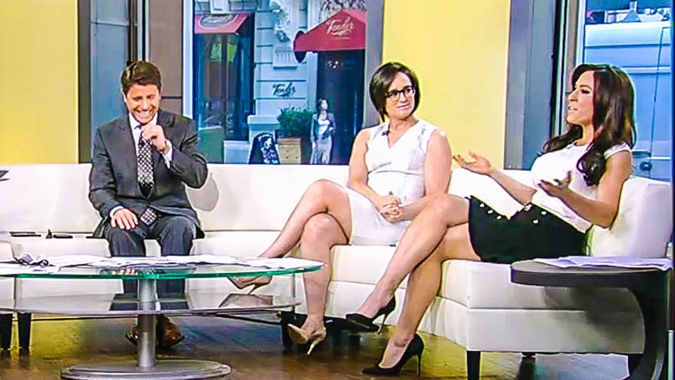 'Do you have trouble maintaining an erection?': Fox host fires back at sexist reproductive questions