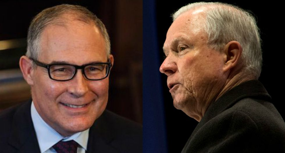 Scott Pruitt begged Donald Trump to fire Jeff Sessions so he could be Attorney General: CNN