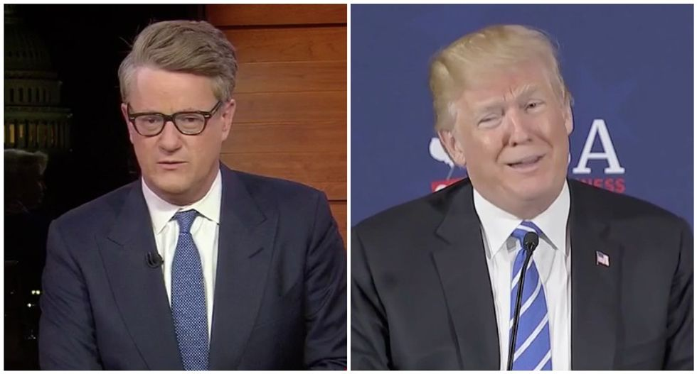 'He's lying': Morning Joe calls out media for sugarcoating Trump's conspiracy theories