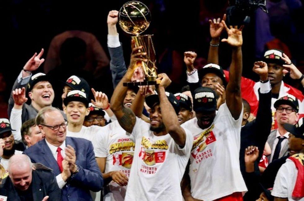 Raptors dethrone Warriors to capture first NBA crown
