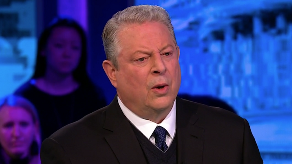 Watch: Al Gore tells Van Jones 'our democracy was hacked before Vladimir Putin'