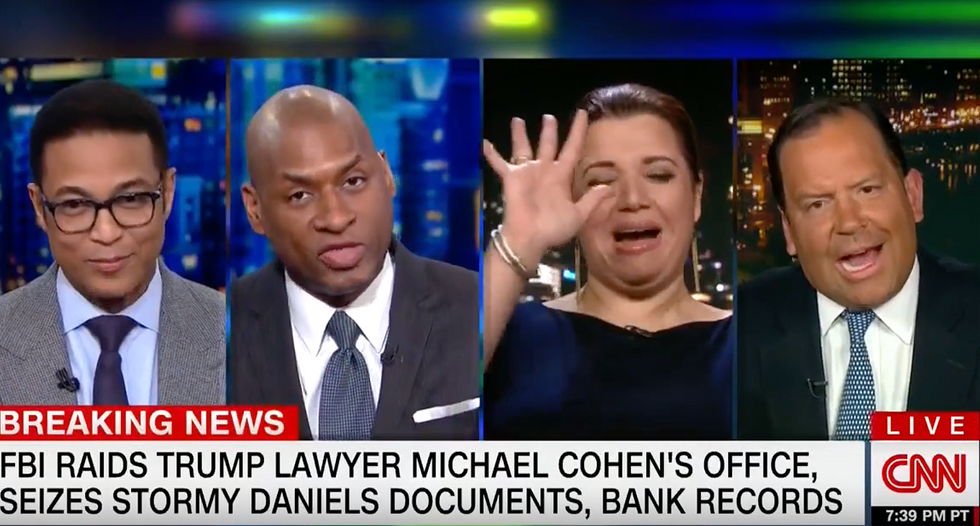 'Keep your pants on!' CNN segment goes off-the-rails after Trump apologist calls Russia probe a 'sham investigation'