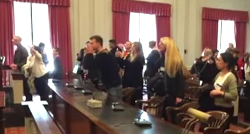 WATCH: Anti-vaxx parents go berserk after NJ lawmakers tighten rules on immunizations