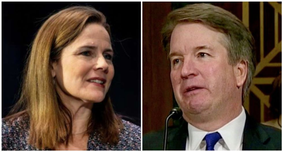 Secretive group that bankrolled Kavanaugh nomination now pouring money into Barrett's confirmation