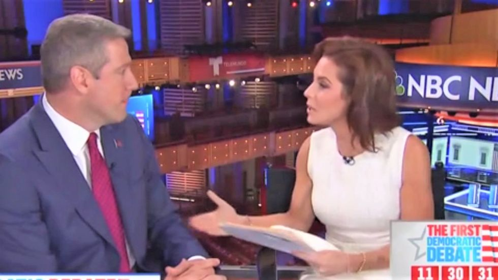 MSNBC's Stephanie Ruhle gives Tim Ryan a reality check after his clash with Tulsi Gabbard