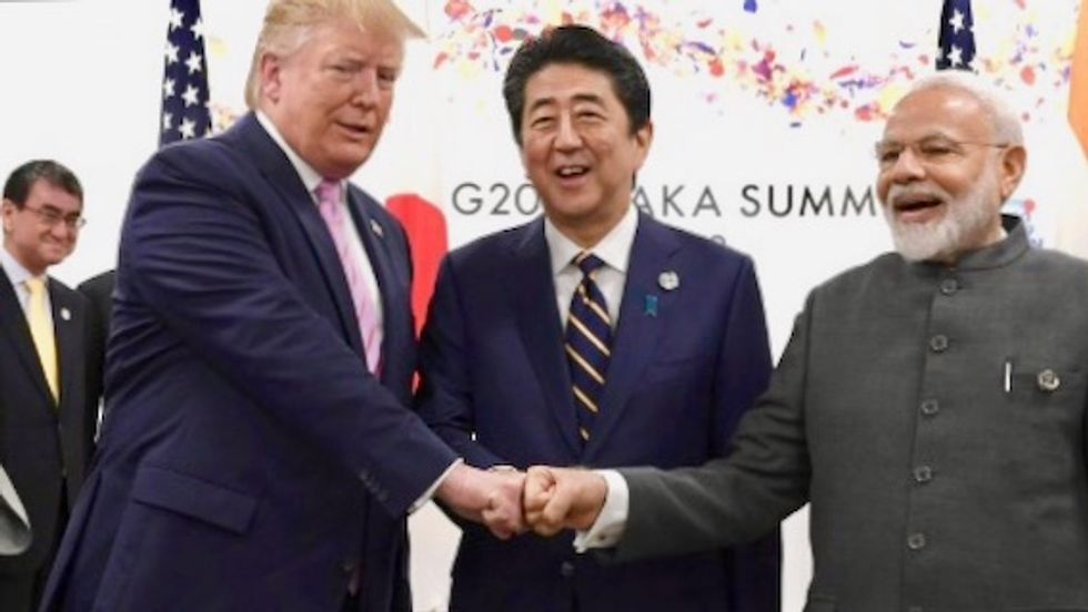 Oh-saka: Fist-bumps and love-ins for Trump at G20