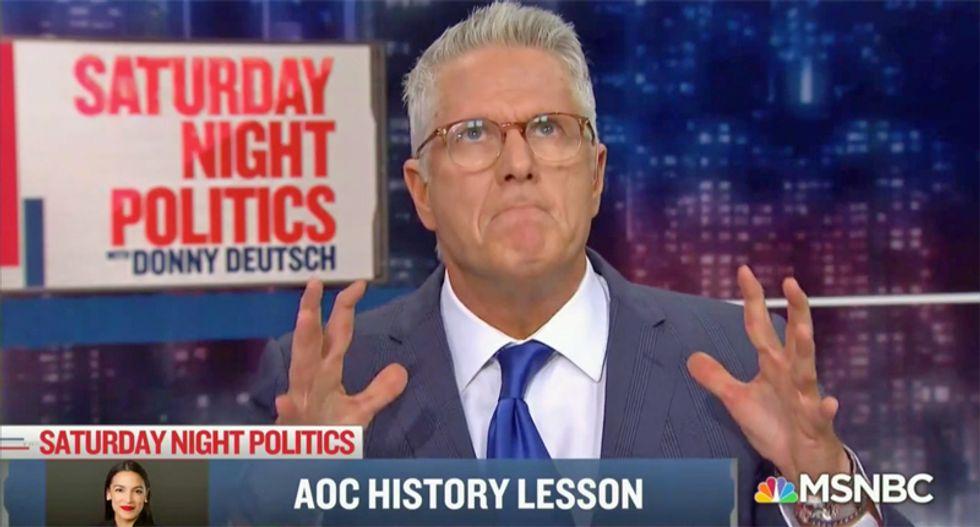 MSNBC's Donny Deutsch bashed Alexandria Ocasio-Cortez as just a 'different form of Trump'
