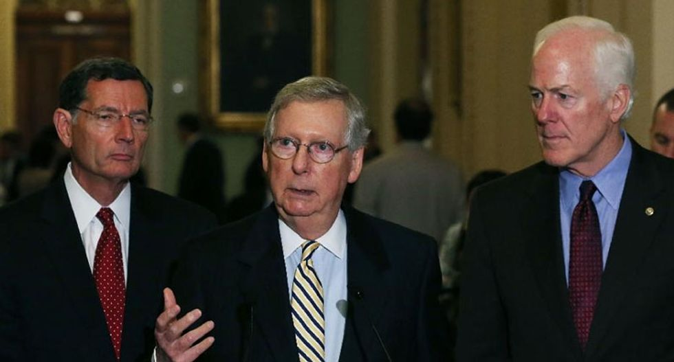 Senate leader McConnell says wants to deny guns to 'terrorists'