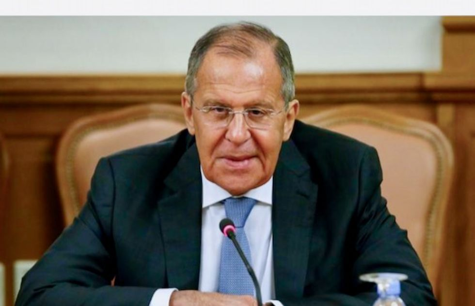 Russia's Foreign Minister Sergei Lavrov: We're not rubbing our hands with glee over Brexit