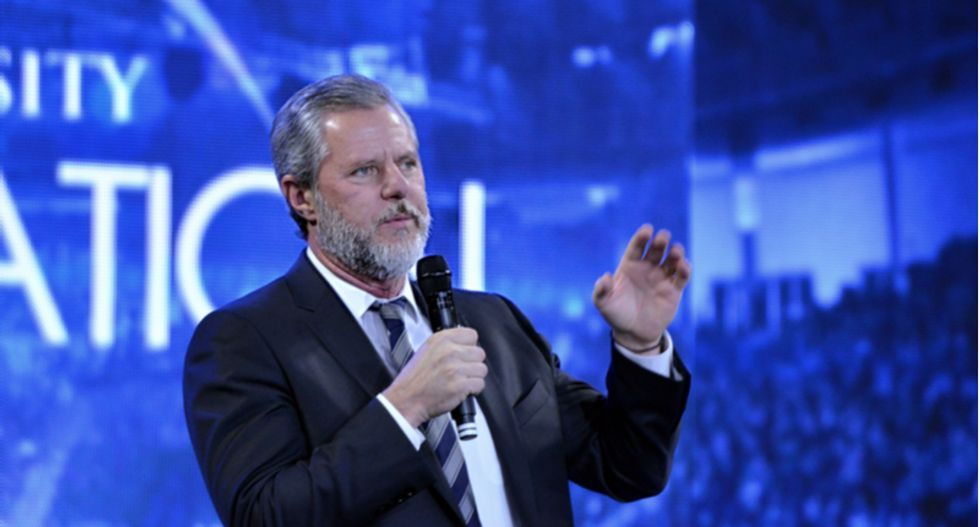 Jerry Falwell Jr seems to want credit from Trump for drinking his coronavirus Kool-Aid: op-ed