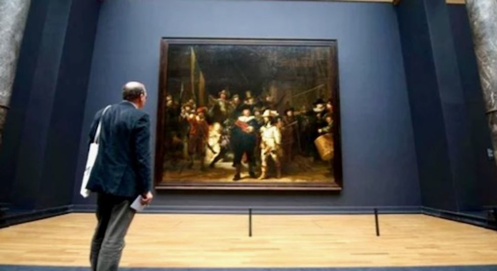 Museum starts 'live' restoration of Rembrandt masterpiece