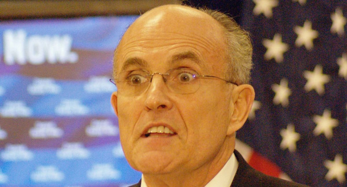 Rudy Giuliani slammed for saying that Maxine Waters made a 'direct threat to the jury' in the Chauvin trial