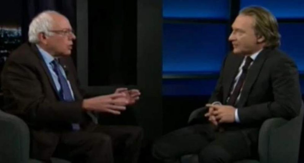 Bill Maher and Bernie Sanders spar over teaching Americans not to fear the word 'Socialist'