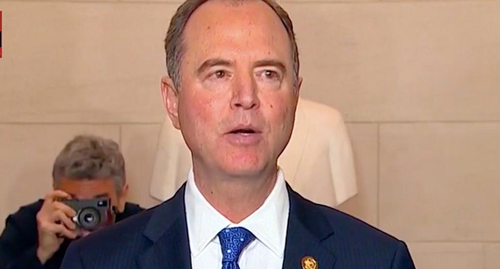 WATCH: Adam Schiff blasts McConnell's Senate impeachment rules in fiery press conference