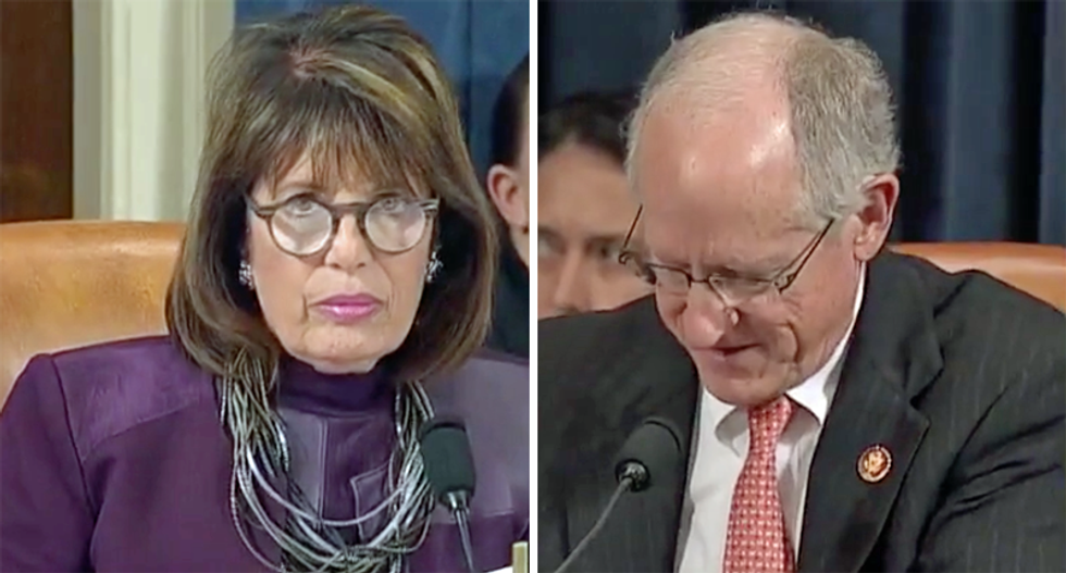 Impeachment hearing explodes with applause as Jackie Speier highlights Trump's daily lies