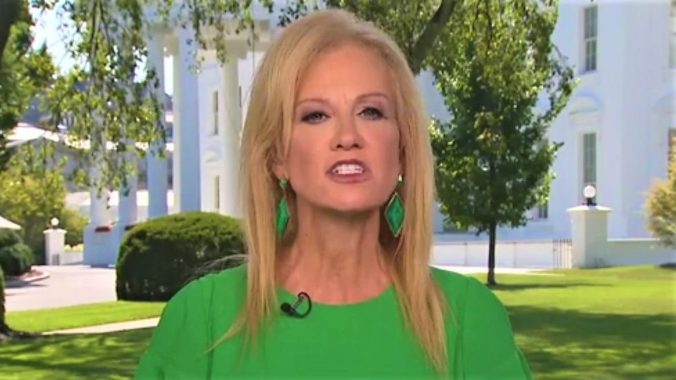 Kellyanne Conway attacks James Comey for not personally going to Trump Tower while trying to keep his job