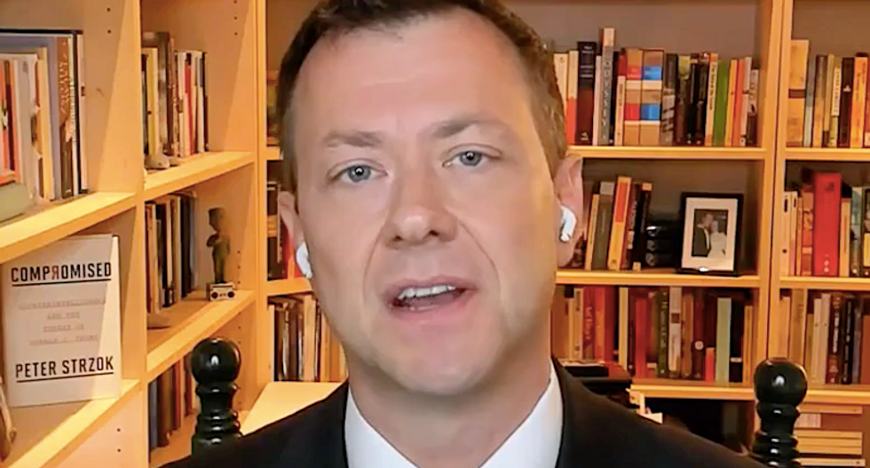 Peter Strzok questions Trump's hidden assets not found in bombshell report -- and if he's compromised because of it