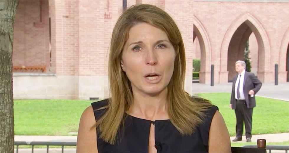WATCH: MSNBC's Nicolle Wallace takes veiled shot at Trump over his absence at Barbara Bush memorial