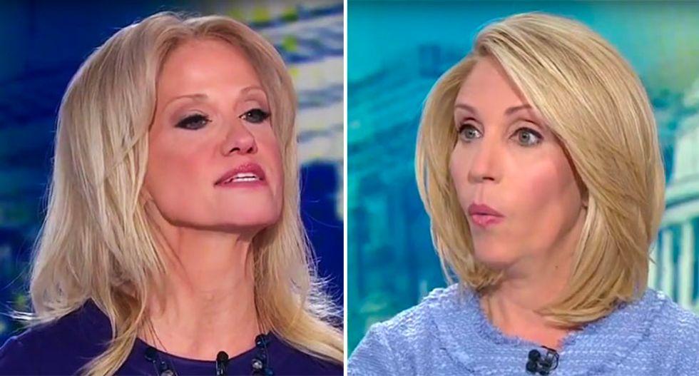 WATCH: Kellyanne Conway melts down when CNN's Bash asks about her husband's anti-Trump tweets