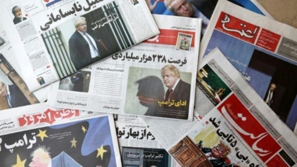 Boris Johnson gets blanket coverage in Iran as 'Britain's Trump'