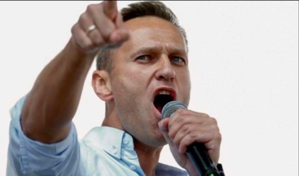 Russian opposition leader Alexei Navalny arrested ahead of protest