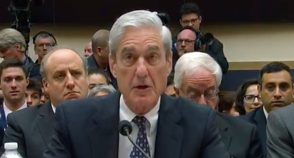 Mueller won't answer questions about Steele dossier because Trump ordered Barr to investigate it