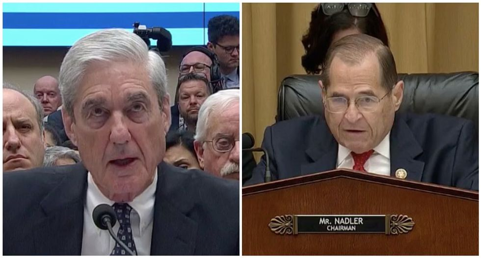 Mueller agrees the president was not exonerated by his report