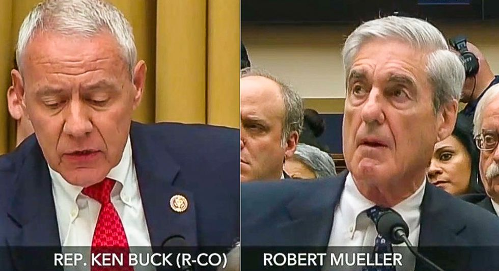Mueller rattles GOPer by saying Trump can be indicted after leaving office: 'You could charge the president?'