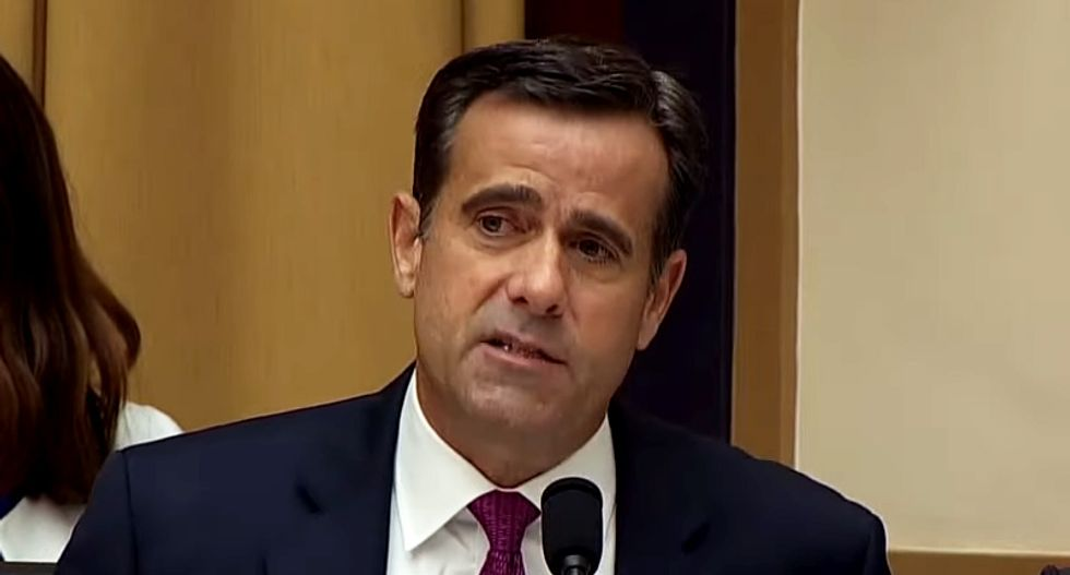 Here are 5 reasons why Trump lackey John Ratcliffe is a terrible choice for intel chief