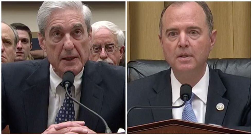 'Not a witch hunt': Mueller blows apart Trump's denials as Schiff lays out the case for Russia collusion