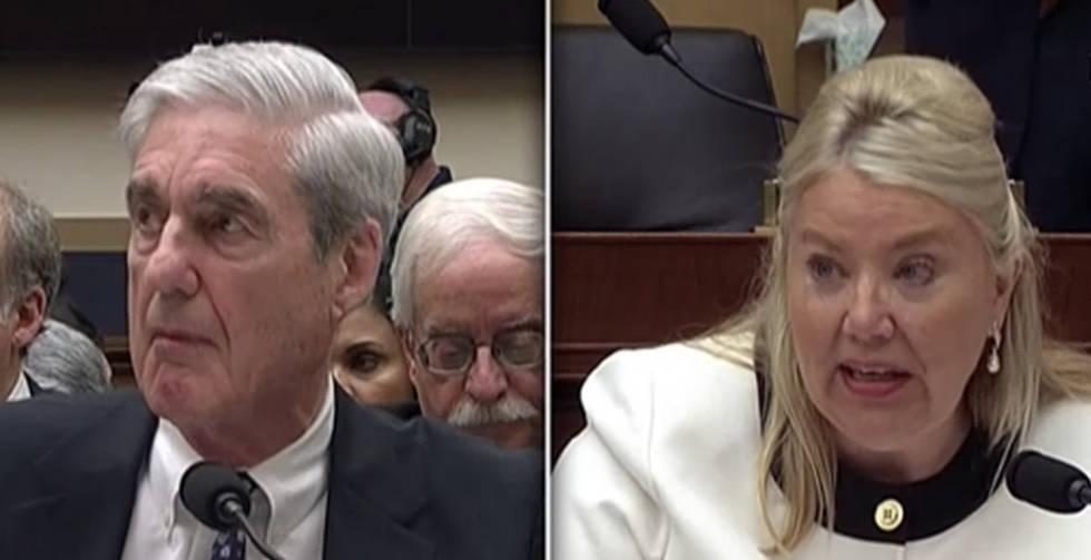 This GOP lawmaker just totally undermined her own attack on Robert Mueller