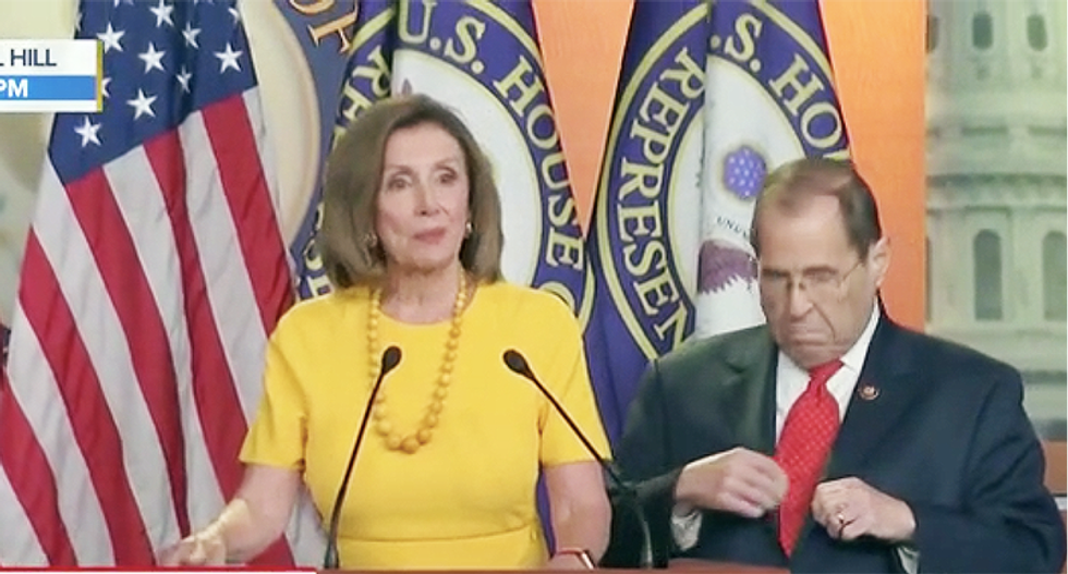Speaker Nancy Pelosi is still not ready to impeach: 'We still have some outstanding matters in the courts'