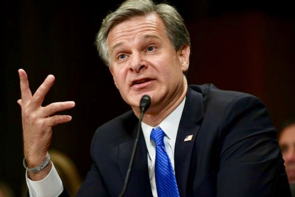 Trump's own FBI director throws cold water on president's claims of voter fraud