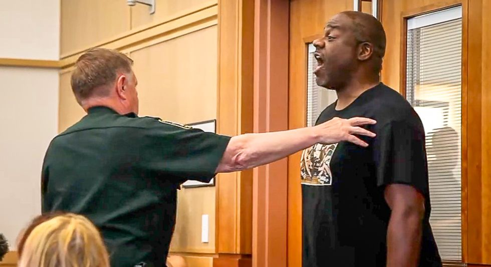 Black man righteously scolds judge after white gun nut walks free: 'Keep on with these racial disparities'