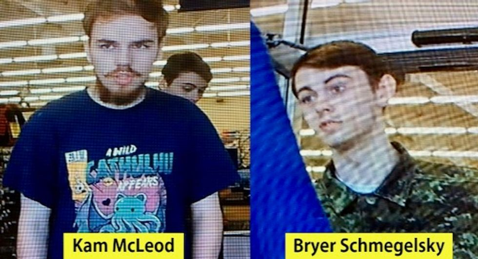 Two bodies found in Canada, believed to be teen murder suspects
