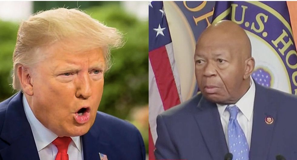 Elijah Cummings once comforted a dying stranger -- while Trump boasted about ignoring a bleeding guest at Mar-A-Lago