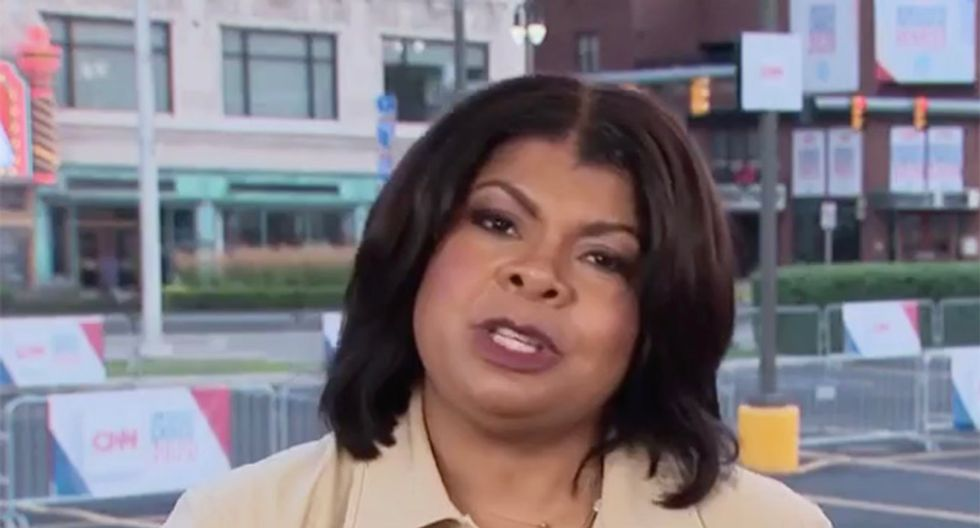 'Reporter's hat off': CNN's April Ryan gets personal in scathing take down of Trump for attacking Baltimore