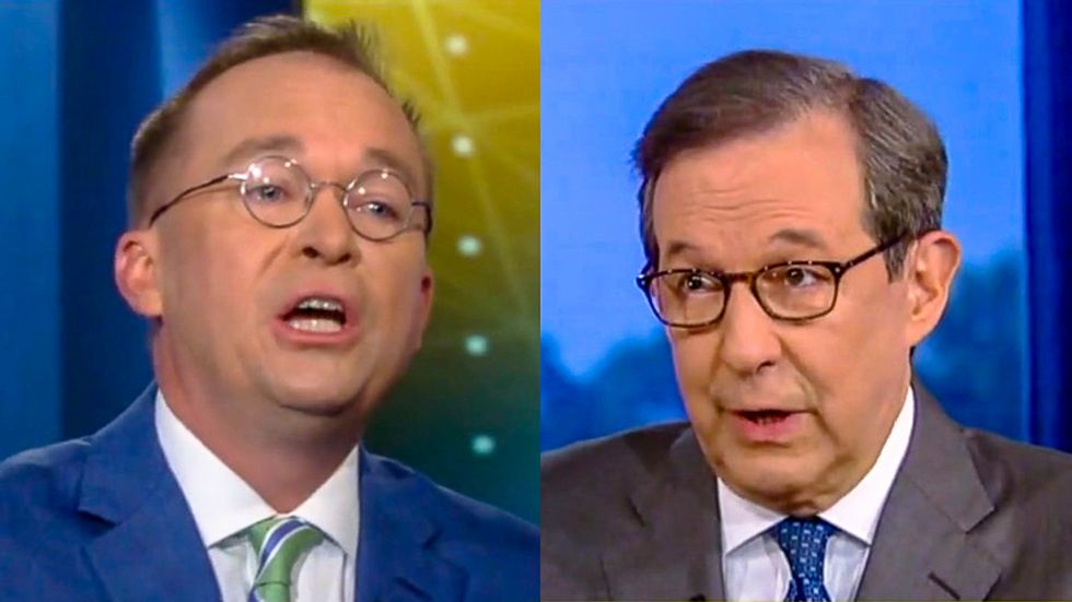 Chris Wallace scorches Mick Mulvaney over Trump's racist attacks: 'The worst kind of racial stereotype'