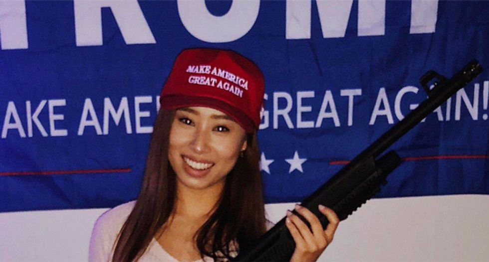 Miss Michigan was stripped of her title for 'offensive' racist tweets -- so she just joined the Trump campaign