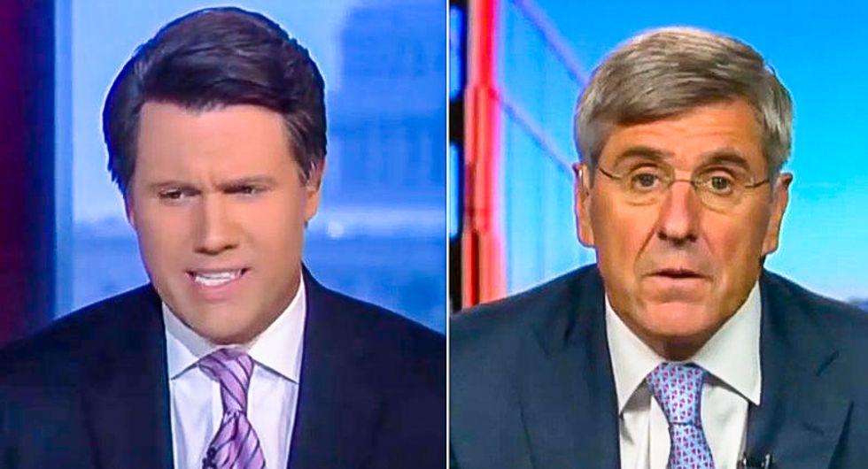 Fox News anchor schools Stephen Moore: GOP started spending like drunken sailors 'when Trump became president'