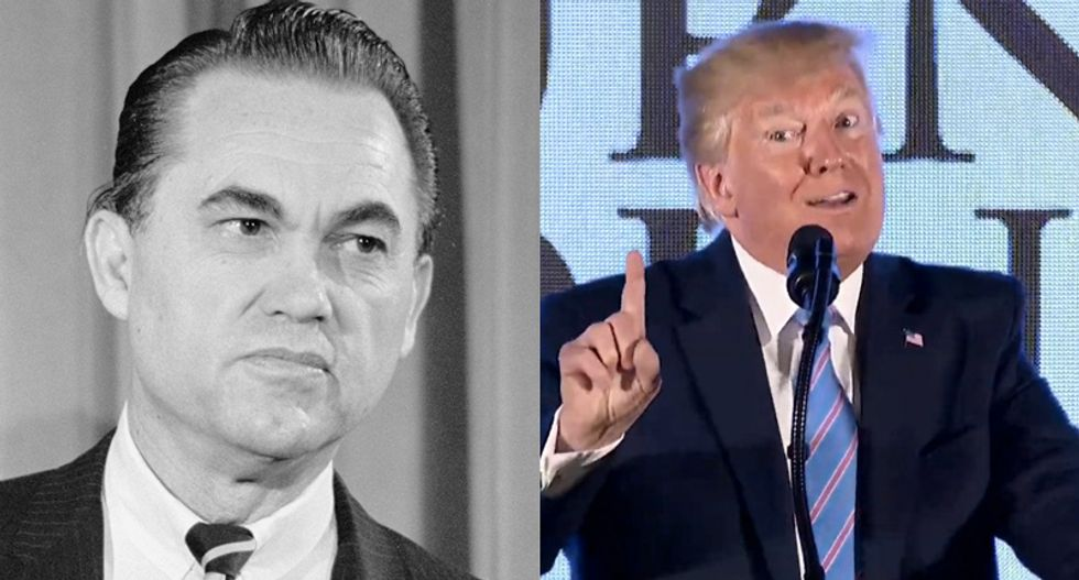 History professor explains why Trump is far worse than notorious racist George Wallace