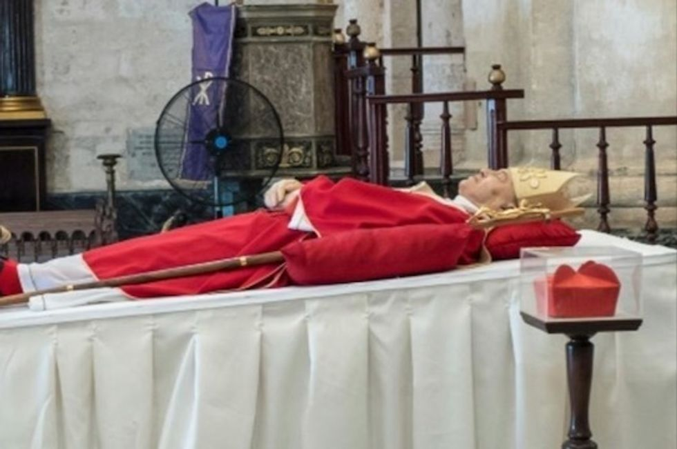 Cuban leaders attend funeral of cardinal who fostered thaw with US