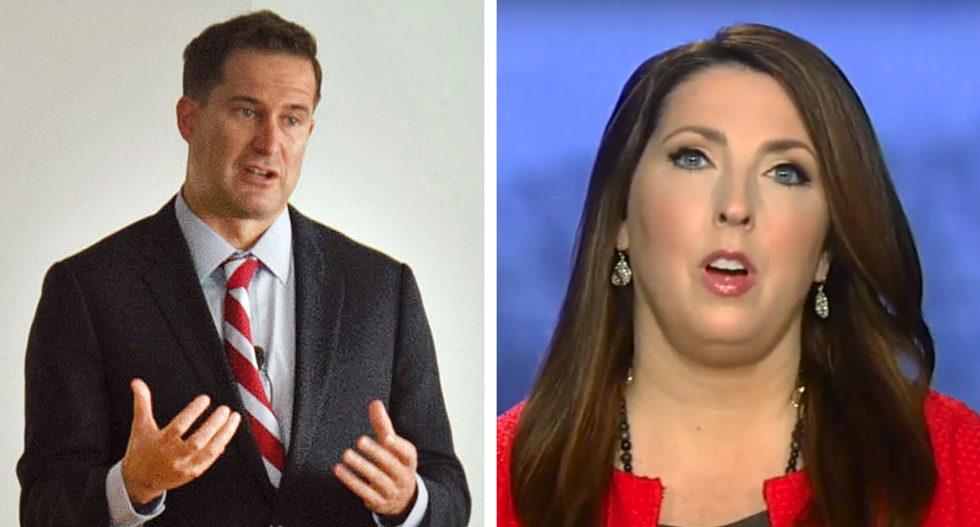 GOP chairwoman's cynical stunt targeting Marine Corps vet backfires — big time